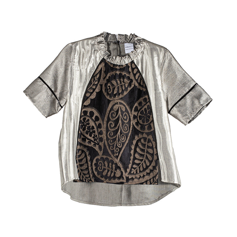 The Panel Blouse - Paisley
