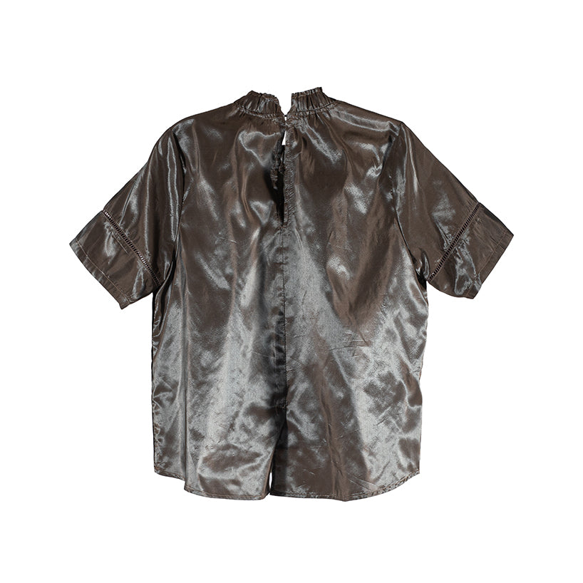 The Panel Blouse - Graydation