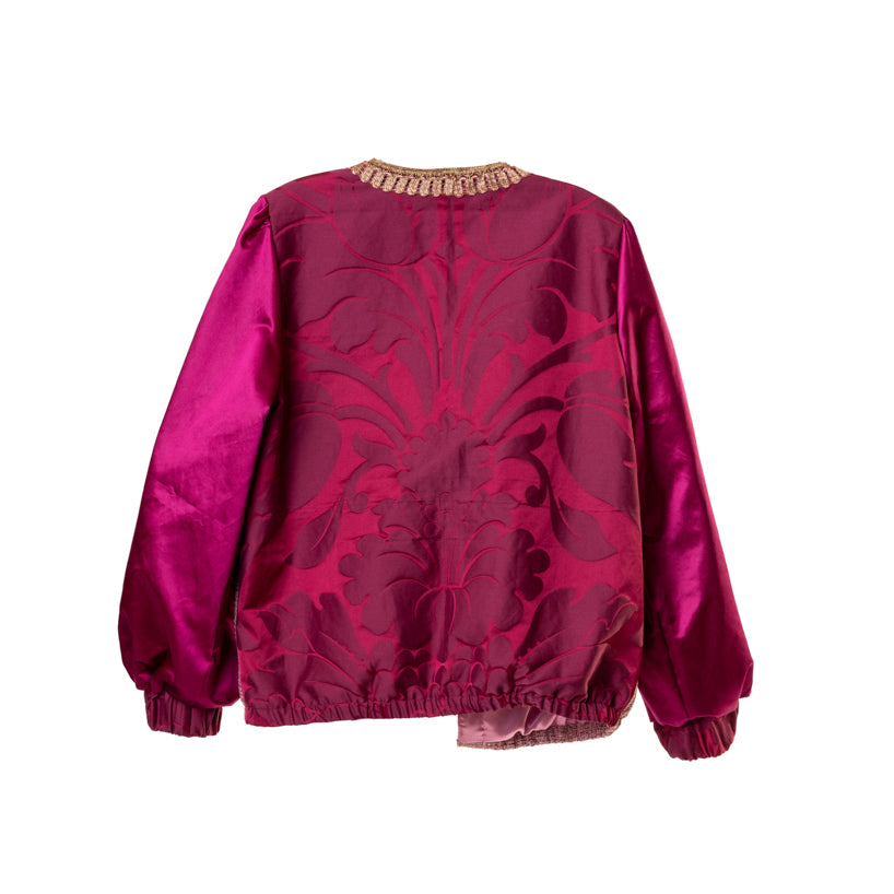 The Hilda Jacket - Raspberry