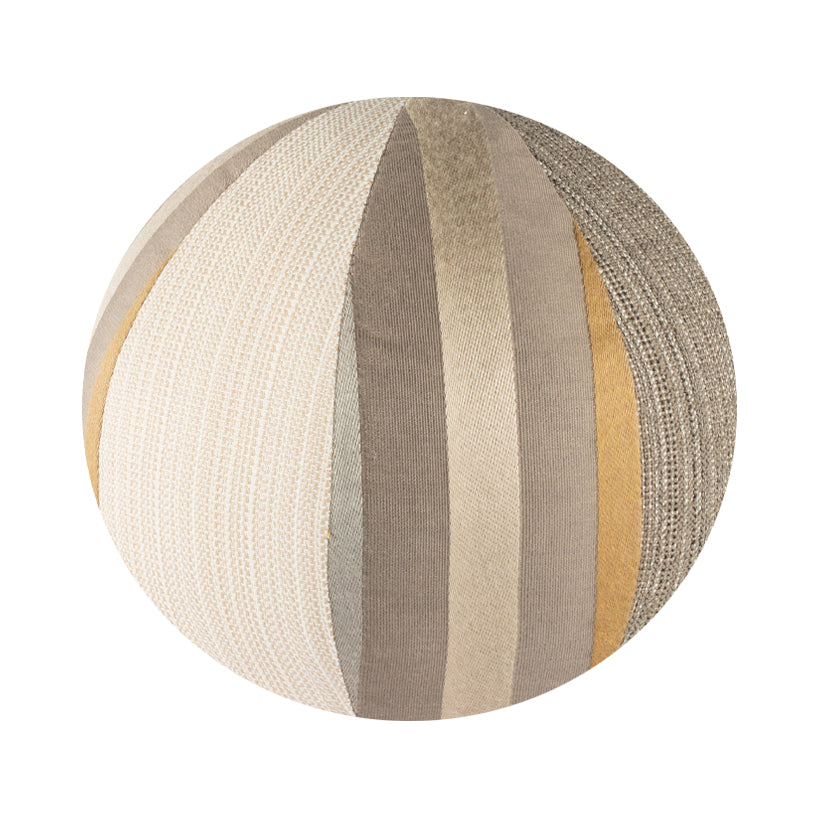 "10"" Indoor Ball Pillow - Stripes and Stripes"
