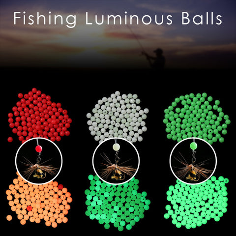 Universal Fit Glowing Float Beads - 100 PCS