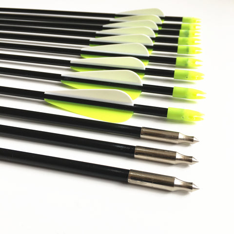 "Optimum Visibility 31"" Fiberglass Arrows"