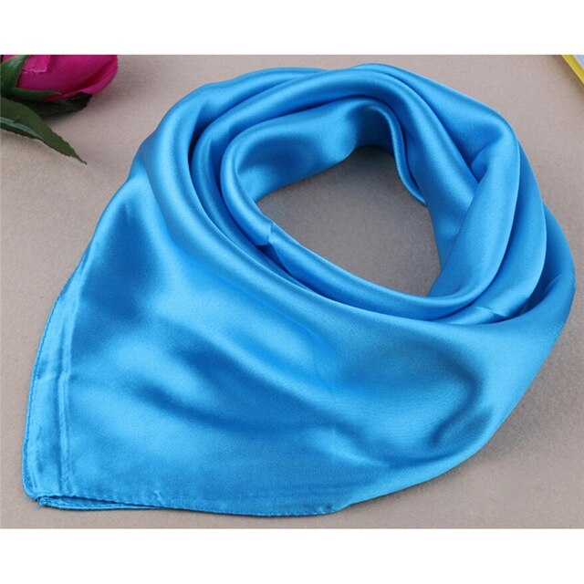 Artificial Silk Scarf for Ladies Women
