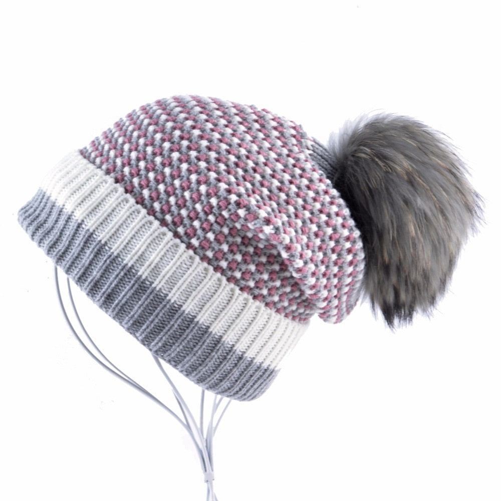 Winter Hat Women's Fashion New