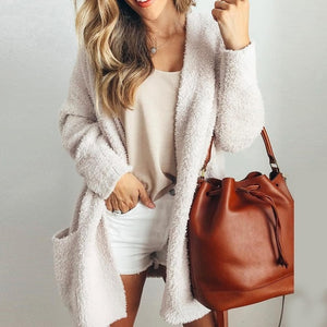 Sweater Women Large Coat Casual