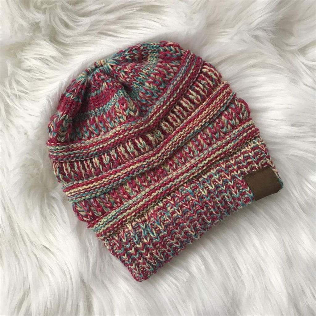 Women Casual  Winter Soft  Hat