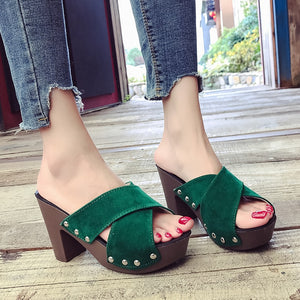 2019 Ladies Spring Leather Shoes