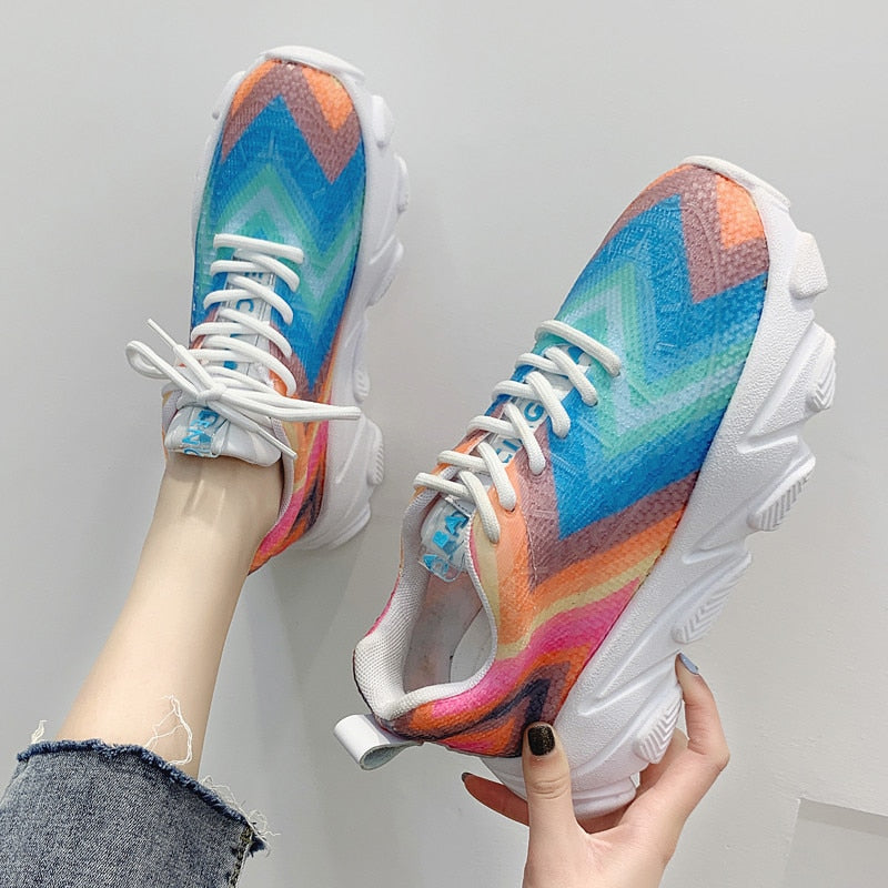 2019 Sneakers Breathable Shoes Colorful