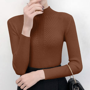 Women Sweater Slim Autumn Knitted