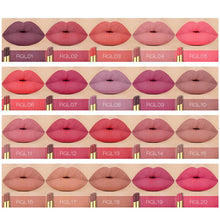 Load image into Gallery viewer, 20colors/lot O.TWO.O Matte Lipstick Set Wholesale Moisturizer Smooth Lipstick Waterproof Lasting Profession Lipsticks Makeup