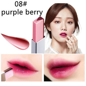 Hot Sale Women Double Color Lipstick Waterproof Long-Lasting Lip Gloss Moisturzing Nourishing Lipsticks Balm Lip Cosmetics NEW