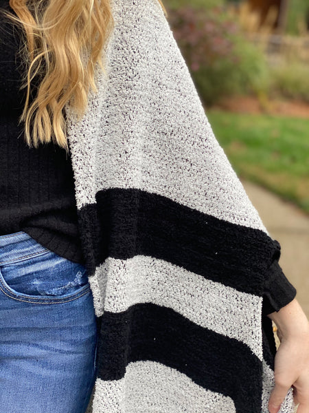 Charcoal Black Alpine Wrap