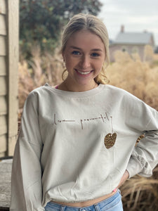 Live Passionately Sweater