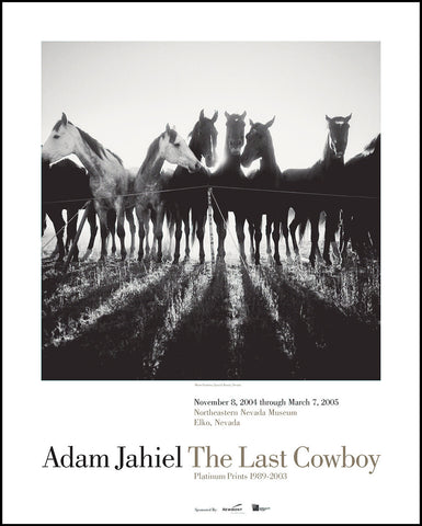 The Last Cowboy Poster - Signed