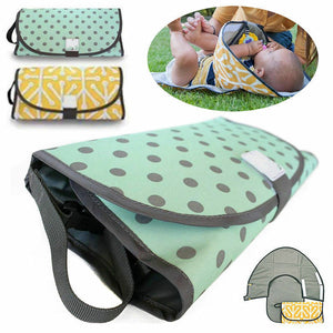 3-in-1  Portable Diaper Changing Pad
