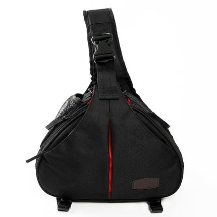 Small DSLR Sling Camera Bag with Rain Cover