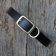 Veg Tan dog collar