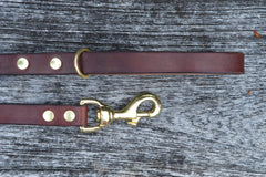 Oak Bark Tan dog lead
