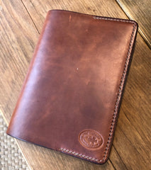 Hand stitched premium leather  A4 and A5 binders
