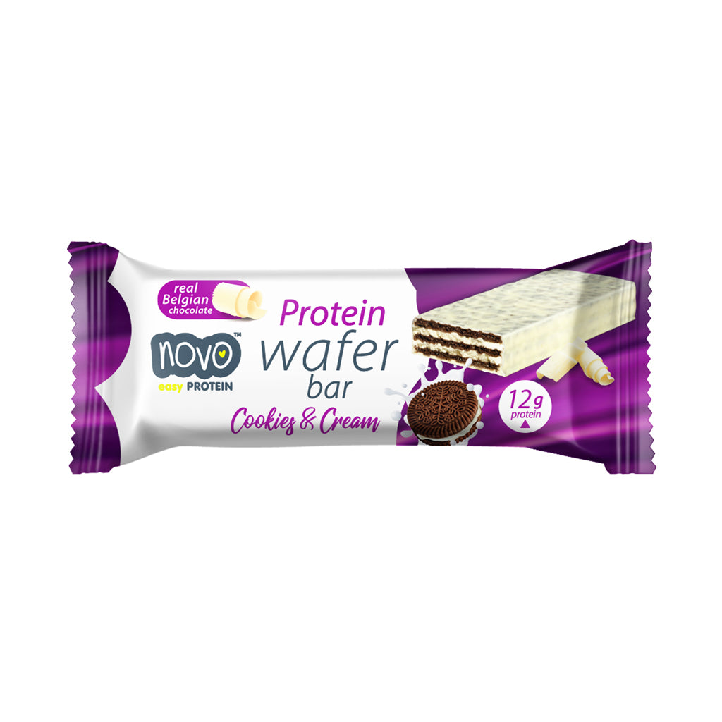 Cookies & Cream Protein Wafer - Box of 12x 40g bars