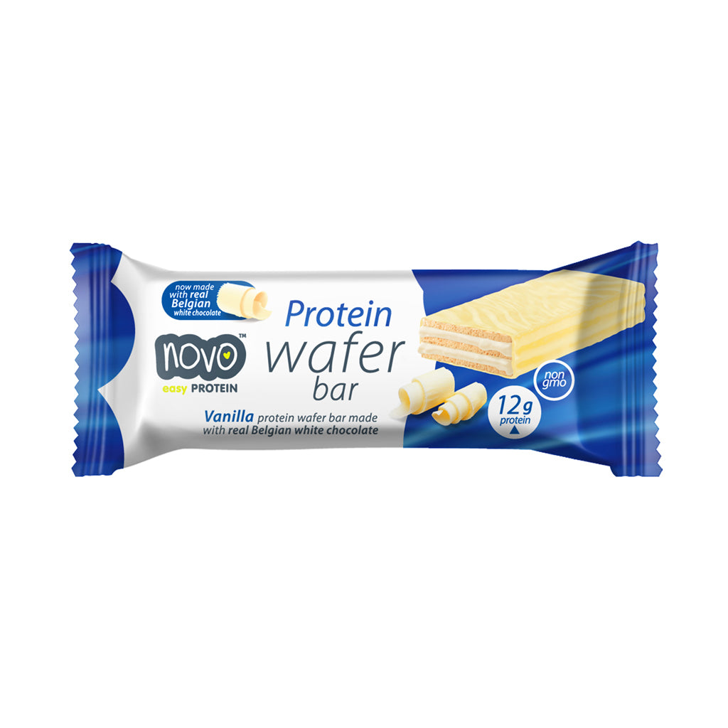 Vanilla flavoured Protein Wafer - Box of 12x 40g bars