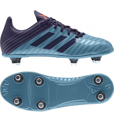 ADIDAS MALICE JUNIOR (SG) RUGBY BOOT TACTILE STEEL