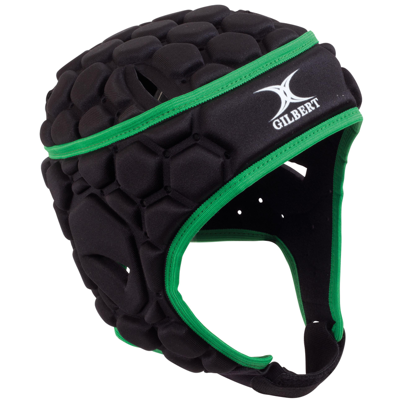GILBERT JUNIOR FALCON 200 HEADGUARD BLACK/GREEN