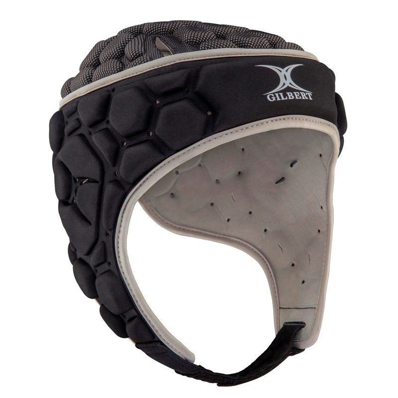 GILBERT SENIOR FALCON 200 HEADGUARD BLACK/SILVER