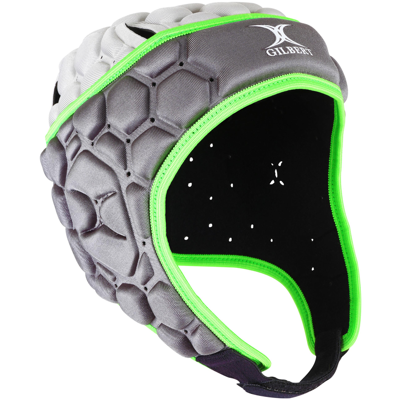 GILBERT JUNIOR FALCON 200 HEADGUARD VOLT GREEN