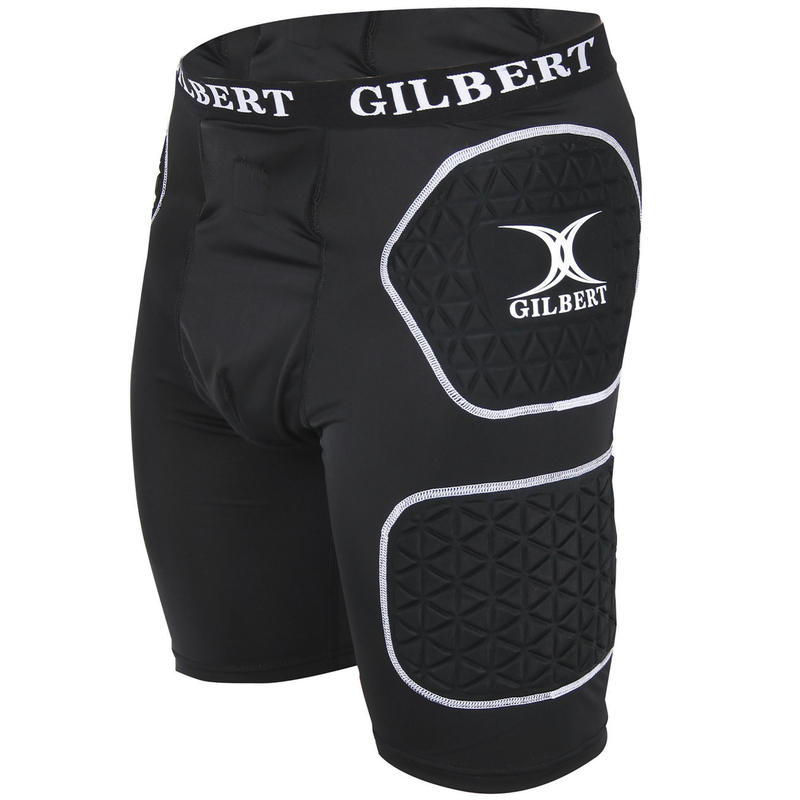 GILBERT JUNIOR PROTECTIVE SHORTS BLACK