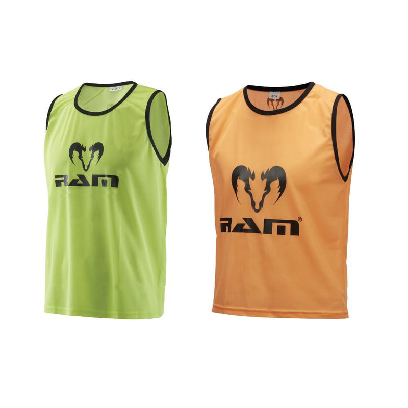 RAM POLYESTER BIBS PACK OF 10