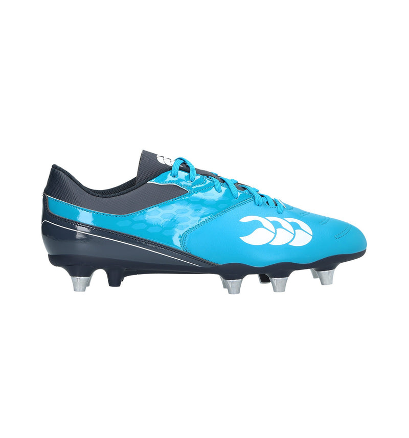 CANTERBURY JUNIOR PHOENIX 2.0 SG RUGBY BOOT CARIBBEAN SEA