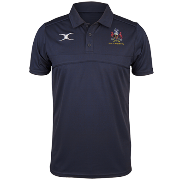 OLD COOPERIANS RFC MENS PHOTON POLO NAVY