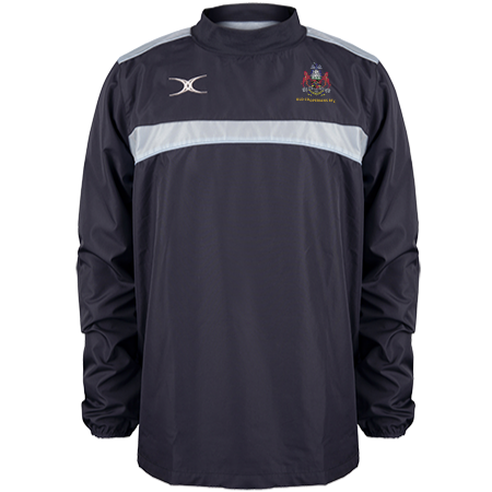 OLD COOPERIANS RFC MENS PHOTON WARM UP TOP NAVY/SKY