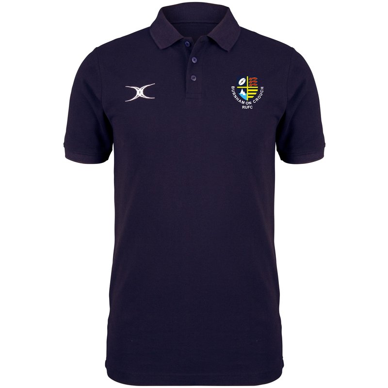 BURNHAM RFC MENS QUEST POLO