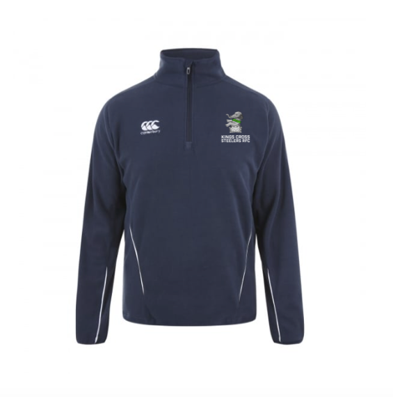CCC KXSRFC TEAM QUARTER ZIP MICRO FLEECE
