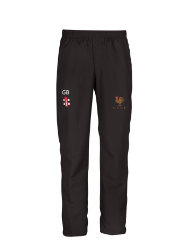 COGGLESHALL TOWN CC JUNIOR STORM TRACK TROUSER BLACK