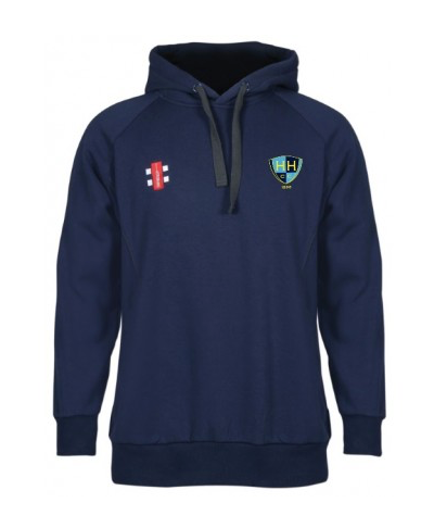 HATFIELD HEATH CC JUNIOR STORM HOODY NAVY