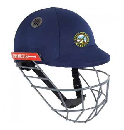 NORTH WEALD CC ATOMIC CRICKET HELMET