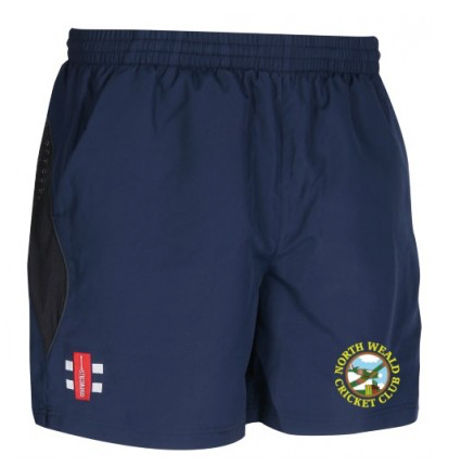 NORTH WEALD CC SENIOR STORM SHORTS NAVY