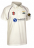 SHOBROOKE PARK CC SENIOR MATRIX SS CRICKET SHIRT BLACK SWAN