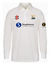 SHOBROOKE PARK CC JUNIOR MATRIX LS CRICKET SHIRT BLACK SWAN