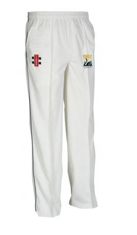 SHOBROOKE PARK CC JUNIOR MATRIX CRICKET TROUSER BLACK SWAN