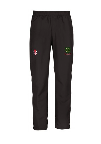 SOUTH WOODFORD CC JUNIOR STORM TRACK TROUSER BLACK