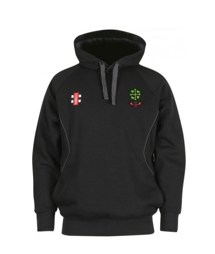 SOUTH WOODFORD CC SENIOR STORM HOODY BLACK
