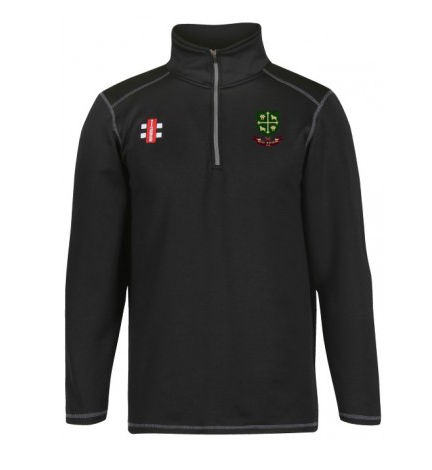 SOUTH WOODFORD CC SENIOR STORM FLEECE BLACK