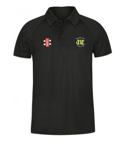 WESTCLIFF-ON-SEA JUNIOR MATRIX POLO SHIRT BLACK
