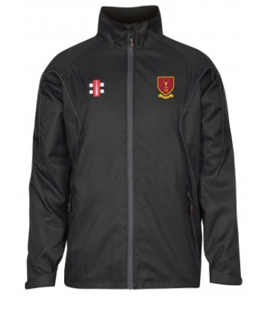 WEST ESSEX CC JUNIOR STORM JACKET BLACK