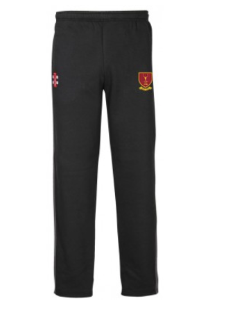 WEST ESSEX CC JUNIOR STORM SWEAT PANTS BLACK