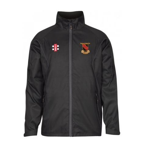 WICKFORD CC JUNIOR STORM JACKET BLACK